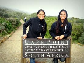 Foggy day at Cape Point.