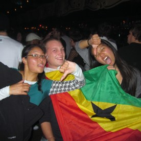 Boo Ghana! Because of them USA did not advance to the next stage.